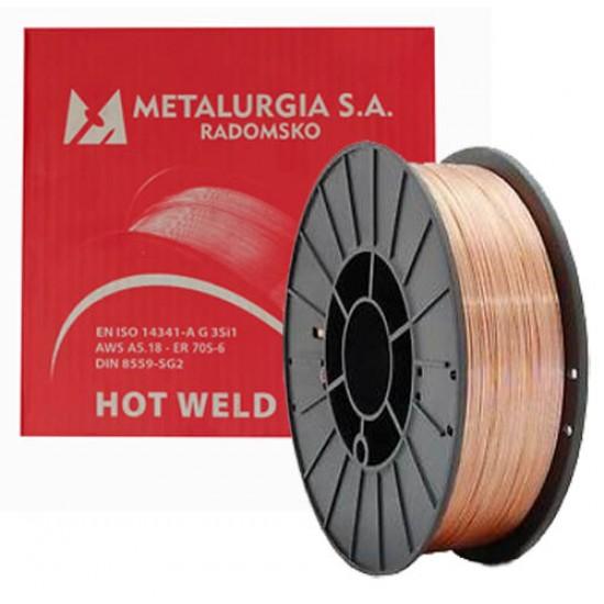METALURGIA WELDING WIRE 0,8 / 5 KG