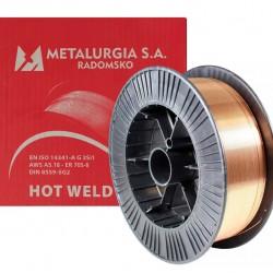 METALURGIA WELDING WIRE 0,8 / 15 KG